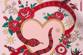 Шелковый платок-каре Bvlgari из лимитированной коллекции Serpenti Forever