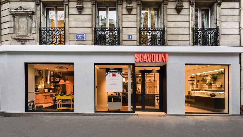 В Париже открылись два новых магазина Scavolini
