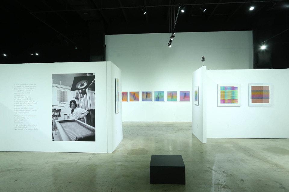 На протяжении долгой творческой биографии Карлос Круз-Диес пытался запечатлеть в «движущихся» инсталляциях и живописных работах меняющуюся, неоднородную природу цвета, его призматическое преломление и спектральное «излучение»