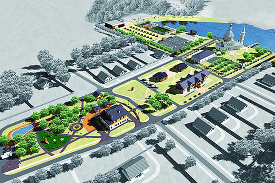 План обустройства суворовского комплекса в с. Кистыш