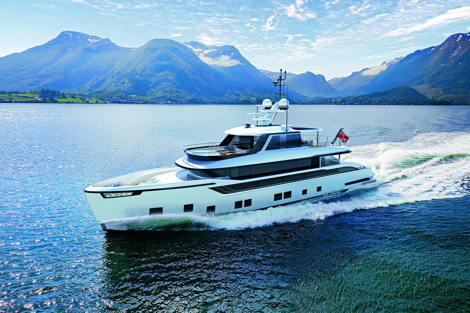 Global создана Сергеем Добросердовым и его компанией Dynamiq Yachts