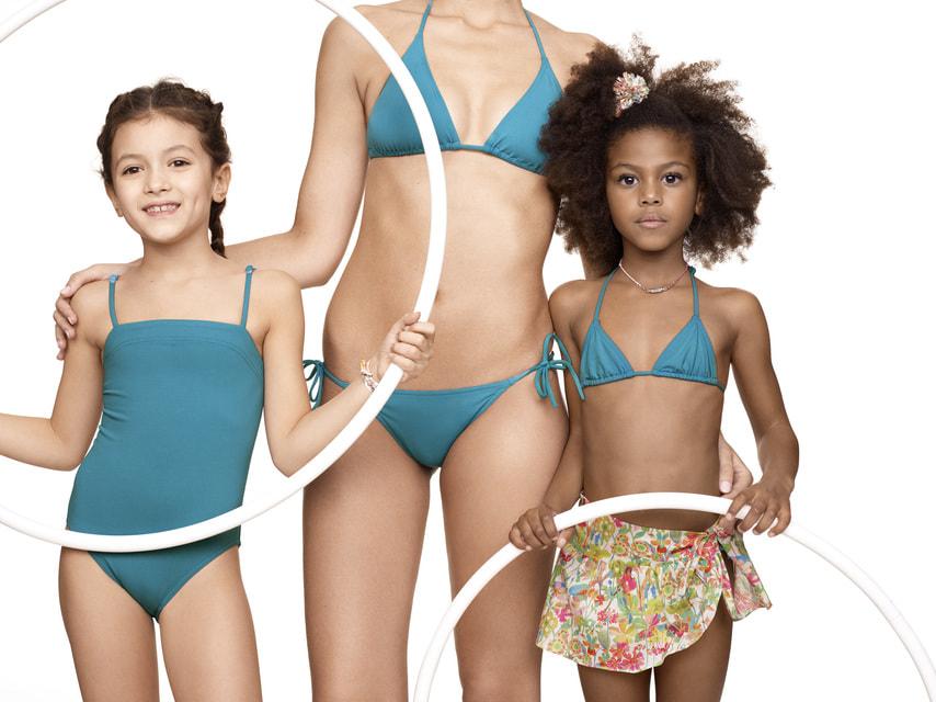 Бельевой бренд Eres создал коллаборацию с маркой детской одежды Bonpoint