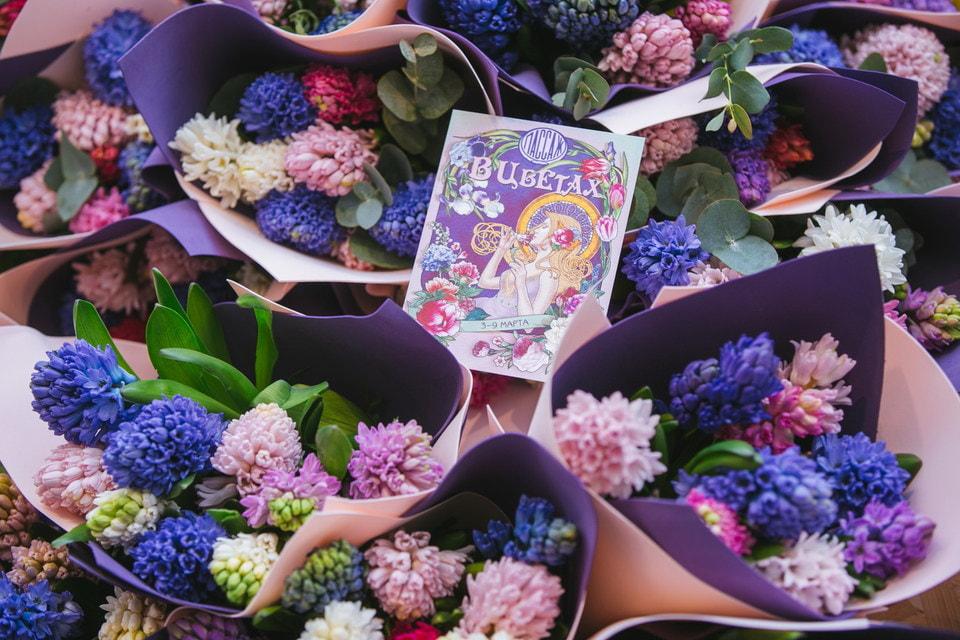 В Петровском Пассаже открывается традиционный цветочный базар