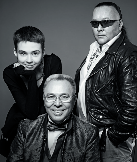 Маруся, Вячеслав и Егор Зайцевы