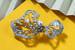 Брошь Mikimoto из коллекции единственных в своем роде украшений воплощает в себе два главных направления творчества японского жемчужного бренда – флору и кутюрные мотивы. Так, с одной стороны брошь напоминает асимметричный бант, а с другой стороны формы выглядят как прекрасно увядающие листья. Ажурная конструкция создана из белого золота и украшена шестью культивированными жемчужинами акойя и россыпью бриллиантов общим весом 8,41 карата