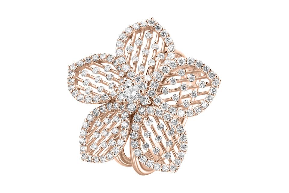 Новая коллекция украшений Mercury демонстрирует мастерство ювелиров бренда в создании изящных цветочных орнаментов из золота и бриллиантов