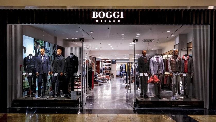 Новый бутик Boggi Milano открылся в Novaya Riga Outlet