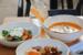 BijouФранцузский ресторан приготовил ежедневно обновляемый обеденный сет для доставки – с супом, салатом и горячим. Также можно заказывать блюда из основного меню