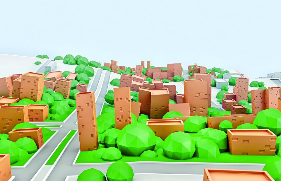 Мегаполисы превращаются в «город-лес»