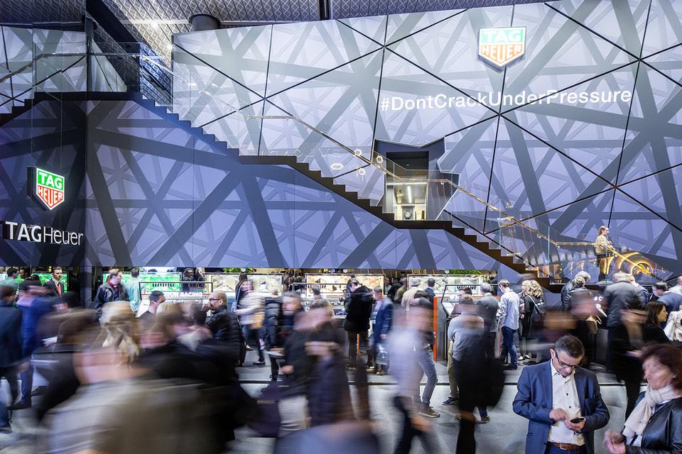 Стенд динамично развивающегося бренда Tag Heuer был одним из главных центров притяжения посетителей Baselworld последние годы