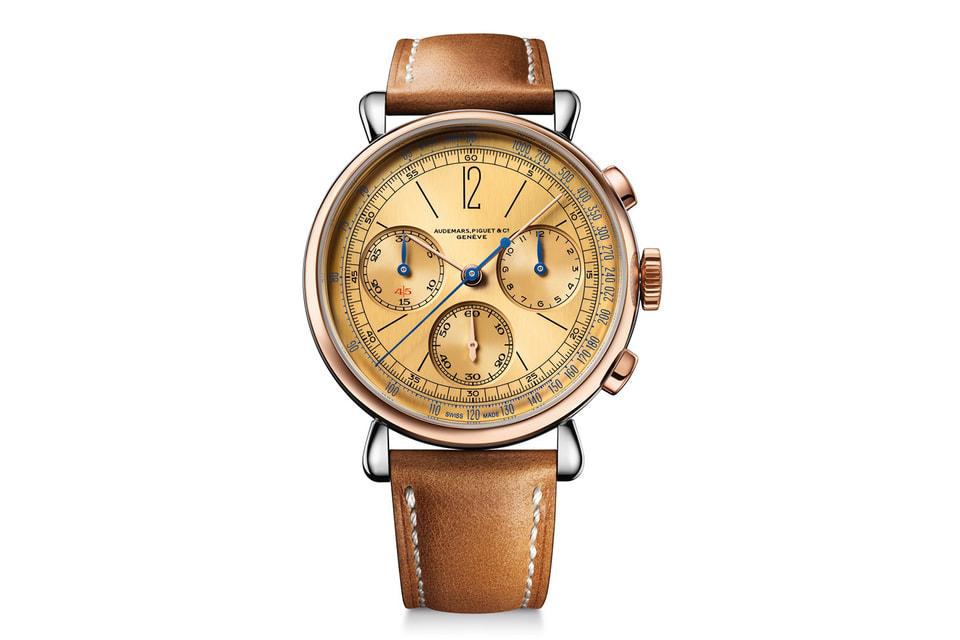 В [Re]master01воспроизводятся характерные черты дизайна винтажного наручного хронографа 1533