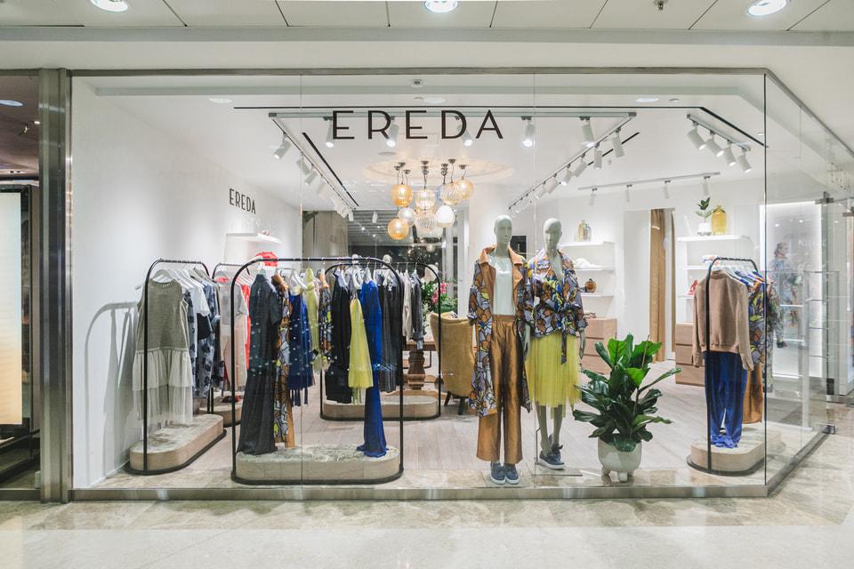 Открытие первого в России бутика итальянского бренда Ereda состоялось в марте в «Смоленском пассаже»
