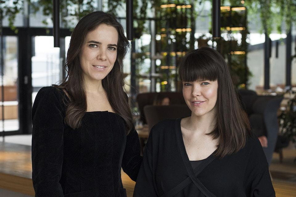 Помощницы Инны – дочери Лиза и Полина