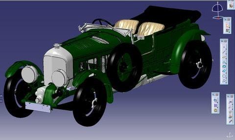 Новый проект Bentley переходит в цифровой формат