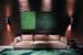 Бренд Visionnaire славится тем, что предлагает готовые решения гостиных, гардеробных и спален со всем множеством предметов мебели и декоративных элементов, которые необходимы для жизни не только в ее функциональном, но и гедонистическом проявлении. Причем любой отдельный предмет из всех коллекций марки, как правило, универсален по своему облику и назначению. Например, новый диван Са'Foscari: трехместный, низкий, на металлической основе, со смягченными формами. Этот диван, отделанный бархатом бежевого цвета, может вписаться в любую гостиную