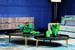 Вазы Fleur de Paon, или «Цветы павлина», – новая интерпретация от мастеров Daum на тему знаковой коллекции Paon, с момента создания которой минуло уже сто лет. В 1919 году изделия из цветного стекла украсили изображения павлиньих перьев, теперь же этот элемент «распушился» словно хвост настоящего павлина. И каждый полутон, каждый оттенок будто оживает на хрустальных деталях ваз, выполненных в технике patte de verre