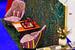 BoscoCasa и Tapis Rouge выпустили первую совместную лимитированную коллекцию ковров ручной работы Per Sempre. Орнамент каждого из семи ее ковров вдохновлен творчеством великих итальянских поэтов и идеями современных дизайнеров. Комбинации линий и сложные цветовые сочетания, в которых угадываются образы женщин ренессансной Италии, имеют конкретные прототипы: это возлюбленные Данте Алигьери, Джованни Боккаччо и Франческо Петрарки. Потому и ковры названы Fiametta, Beatrice, Biancafiore, Laura, Mesola, Maria и Griseida. Все ковры сотканы из шелка, хлопка, льна в древней технике ткачества мастерами Непала, с которыми давно сотрудничает Tapis Rouge