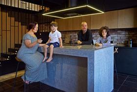 <strong>Предметом поисков нового жилья для Сергея и Анны Монгайтов был только лофт</strong>