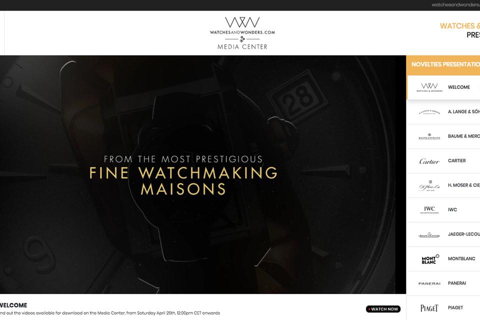 На сайте выставки можно во всех деталях посмотреть новые часовые коллекции, а также послушать мнение профессионалов о представленных новинках