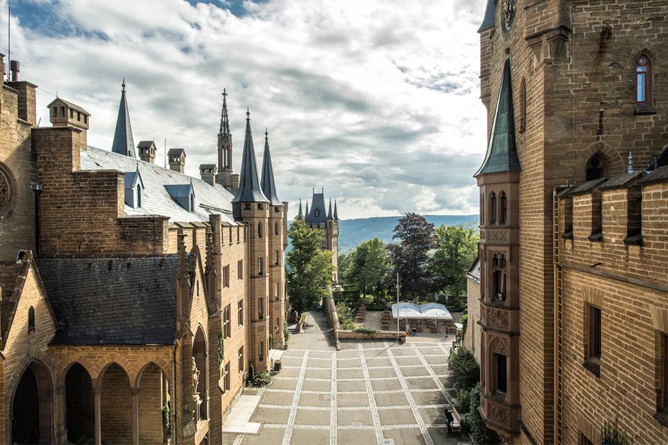 Замок Гогенцоллернов может похвастаться коллекцией артефактов