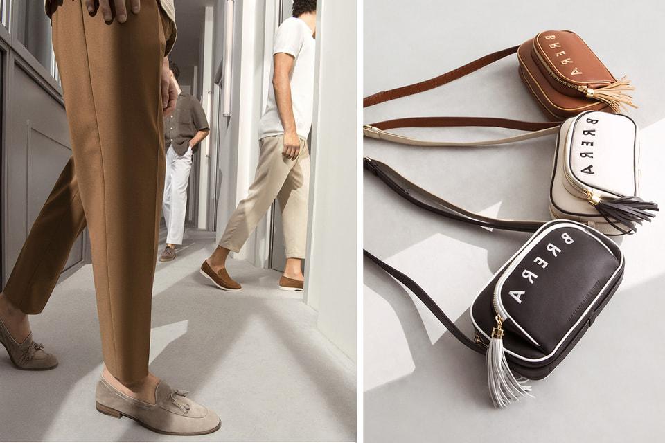 Обновленная коллекция лоферов Brera с кисточками и новая версия поясной сумки Brera Bow