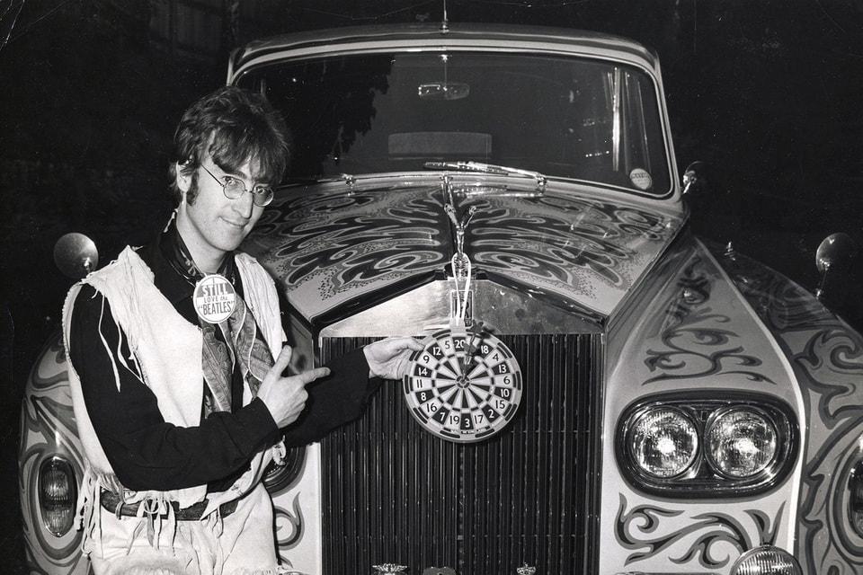 Ярко расписанный Phantom Леннона оказался под стать обложке нового альбома