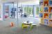 Вместе с детьмиА это идея спортивной зоны для дома от архитектурной студии Eisner Design. Тренажеры и все необходимое для занятий размещено в стеклянном кубе, являющемся частью детской комнаты. Очень удобно – пока мама занимается, ребенок играет у нее под контролем