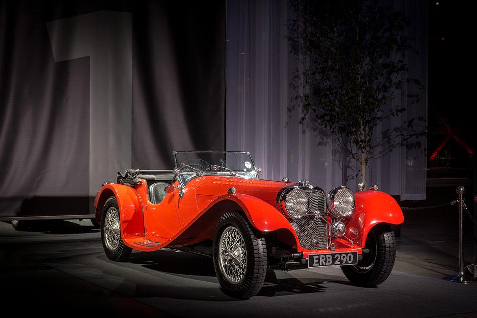 Модель SS 100, 1935 г.