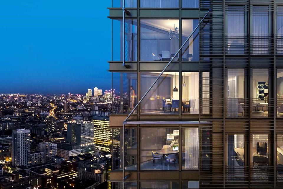 Ночной Лондон – идеальное место для виртуальной свадьбы