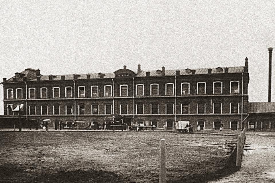 Фабрика Товарищества И.А. Абрикосова Сыновей в Сокольниках, построенная в 1880 г.