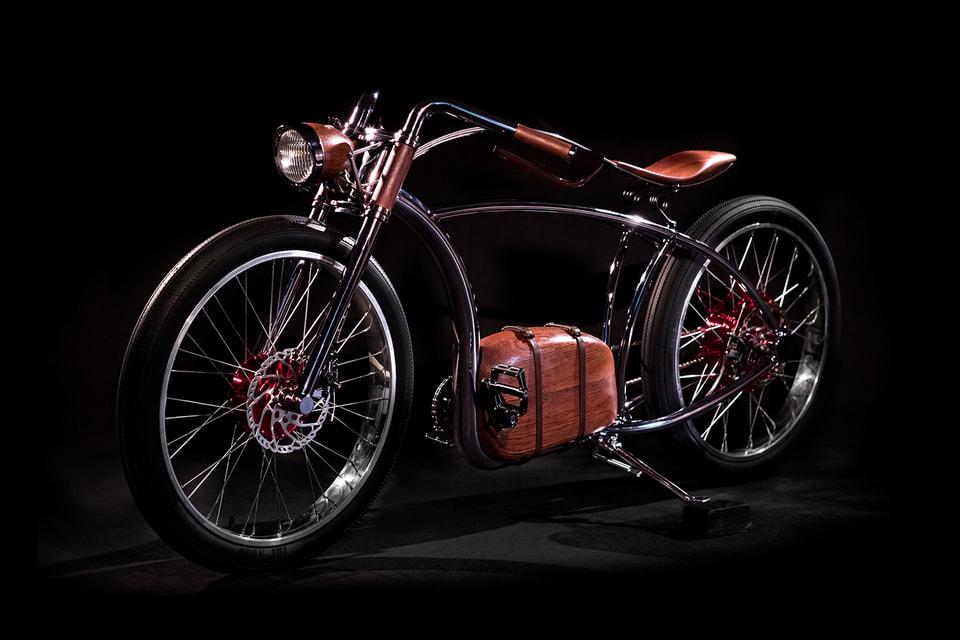 Электровелосипед Avionics VM создан бюро Bartek & Jaromir специально для женевской M.A.D.Gallery