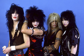 Томми Ли и его команда – глэм-металл группа Motley Crue
