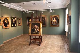 В музее В.А. Тропинина