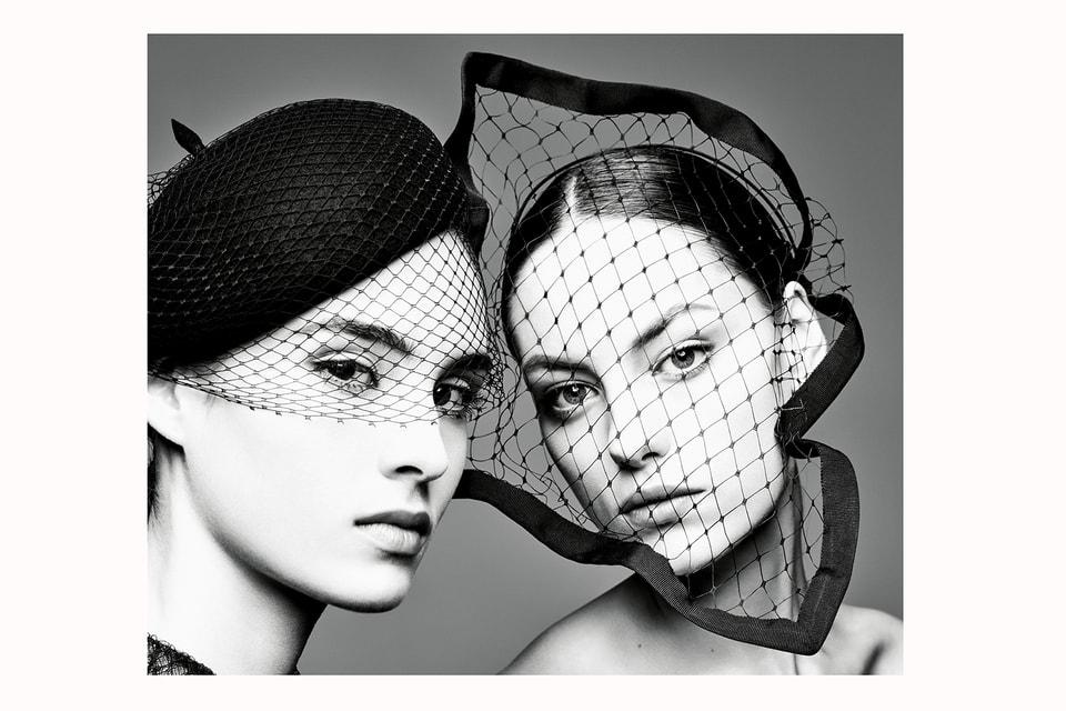 На фото из книги – береты с вуалью: один – из осенней коллекции Dior haute couture 2019, другой – из весенней коллекции haute couture 2018