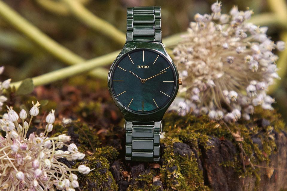 Благодаря союзу с Grandi Giardini Italiani серия часов Rado cтала символом взаимосвязи природы и дизайна