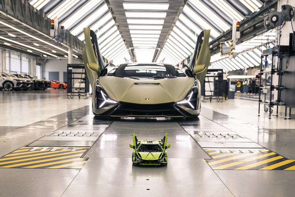Новинка в серии Technic: точная копия Lamborghini Sián в масштабе 1:8
