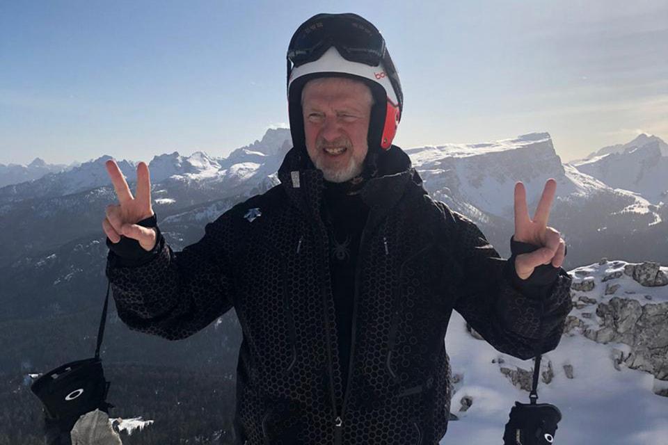 Леонид Кронгауз – горнолыжник с солидным стажем