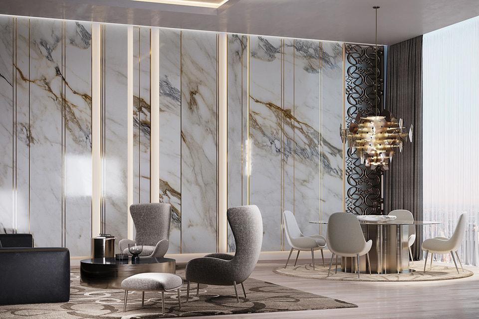 Лаконичность, архитектурность и сдержанные цвета в первой мебельной коллекции Elie Saab