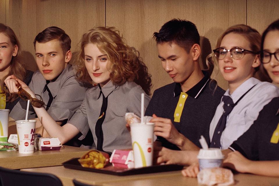 В съемке коллекции одежды для «Макдоналдс» приняли участие сами сотрудники