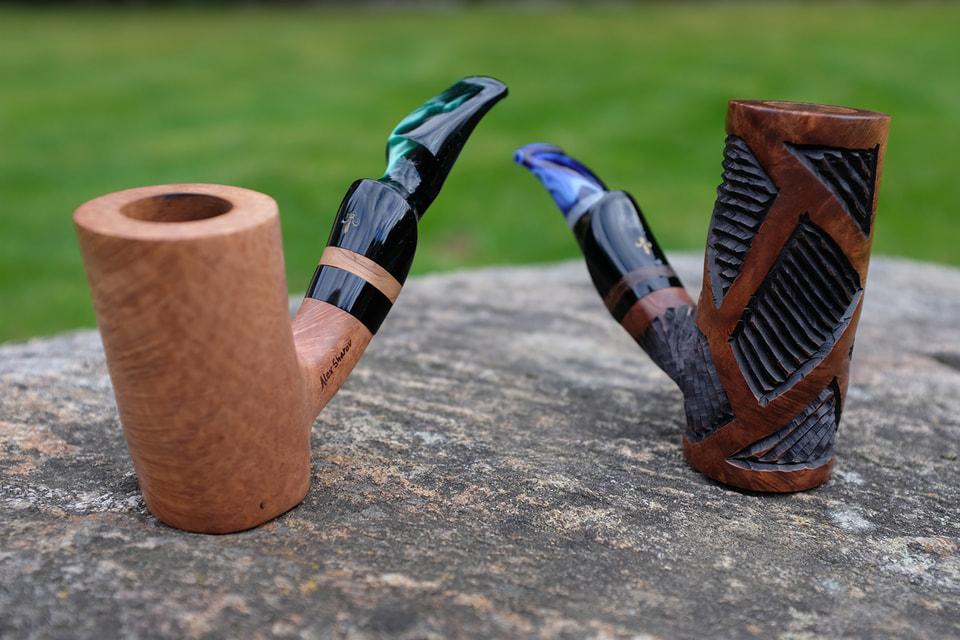 Трубки, сделанные под заказ мастерской Mastro Grandolfo