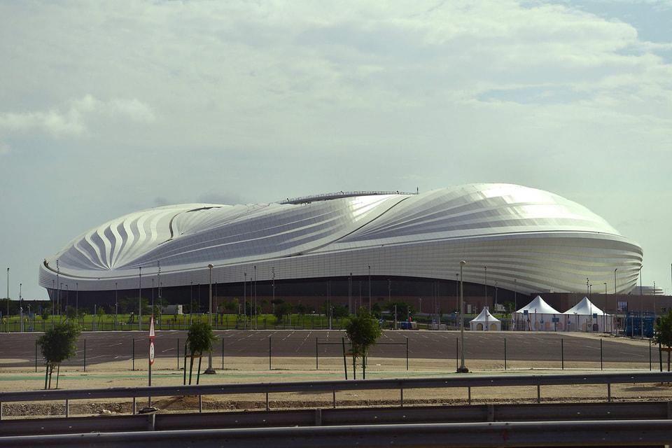 Крыша стадиона «Аль-Вакра» в Катаре напоминает паруса