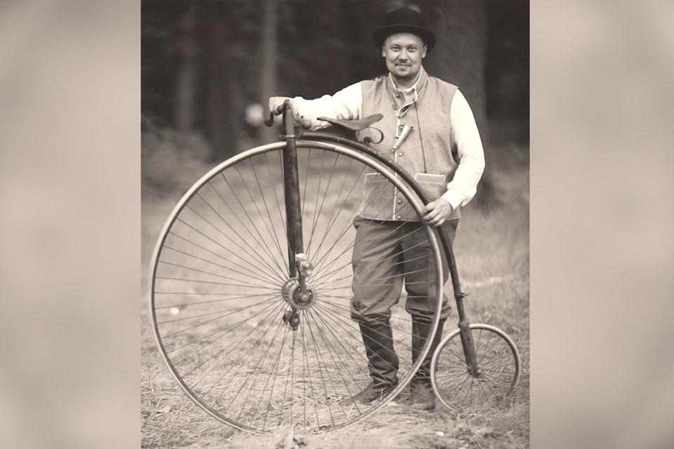 Андрей Мятиев – глава Музея истории велосипедного дела в России