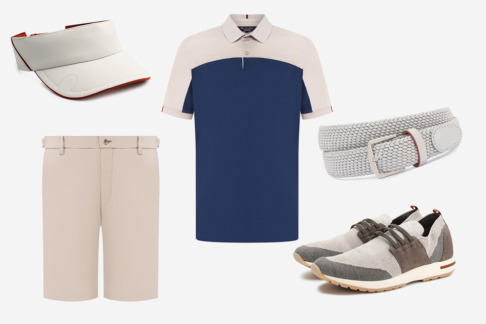 В летней капсульной коллекции Loro Piana представлены вещи, которые идеально подойдут для игры в гольф