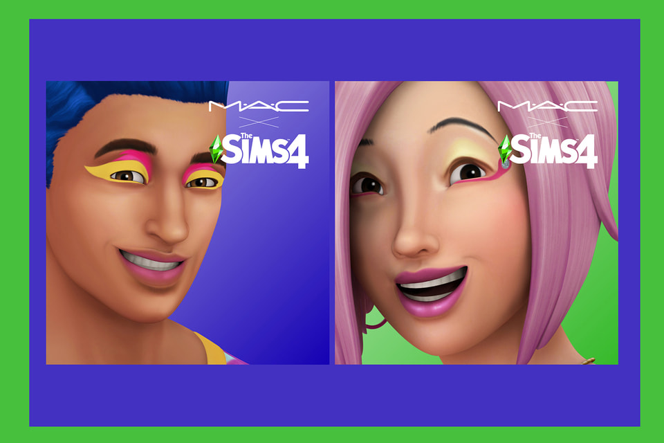 М.А.С разработал образы для игры The Sims 4