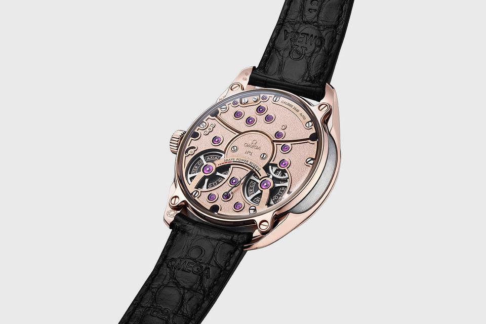 Коаксиальный часовой механизм Omega Master Chronometer 2640 с турбийоном имеет запас хода длиной в 3 дня