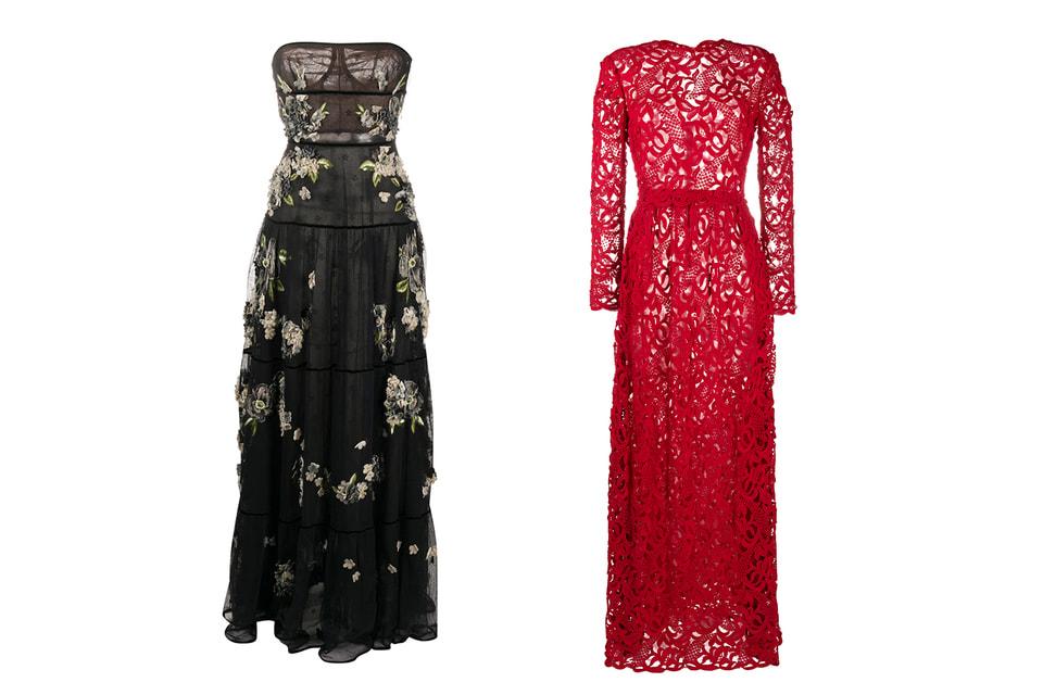 Винтажные платья Valentino Couture из коллекции Анджело Кароли – теперь на Farfetch