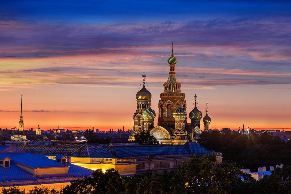Белые ночи в Санкт-Петербурге – неповторимое зрелище