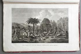 Гравюра из «Атласа экспедиций» Ж. Лабилладьера