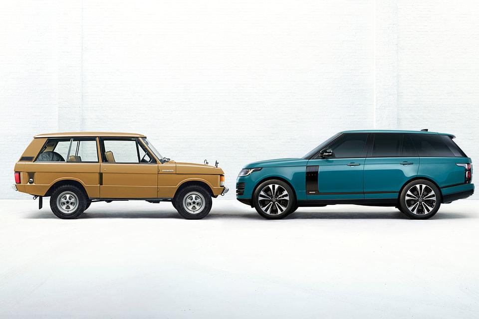 От первого Range Rover – к юбилейному Fifty
