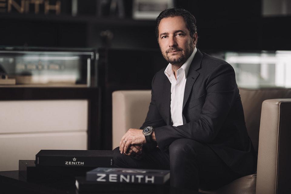 Жюльен Торнар, исполнительный директор Zenith